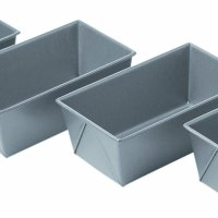 Non-Stick Mini Loaf Pans, Set of 4, 5-3/4 by 3-1/4 by 2-1/4-Inch
