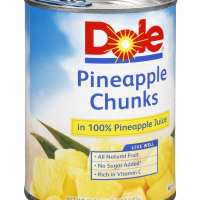 Dole, Pineapple Chunks in 100% Pineapple Juice