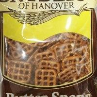 Snyder's butter snap pretzels
