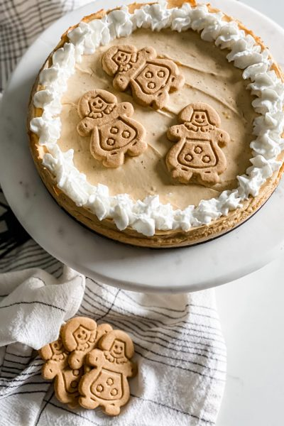 Weight Watchers Gingerbread Cheesecake