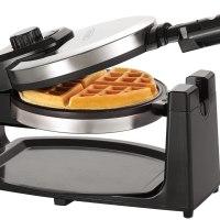 BELLA Classic Rotating Non-Stick Belgian Waffle Maker