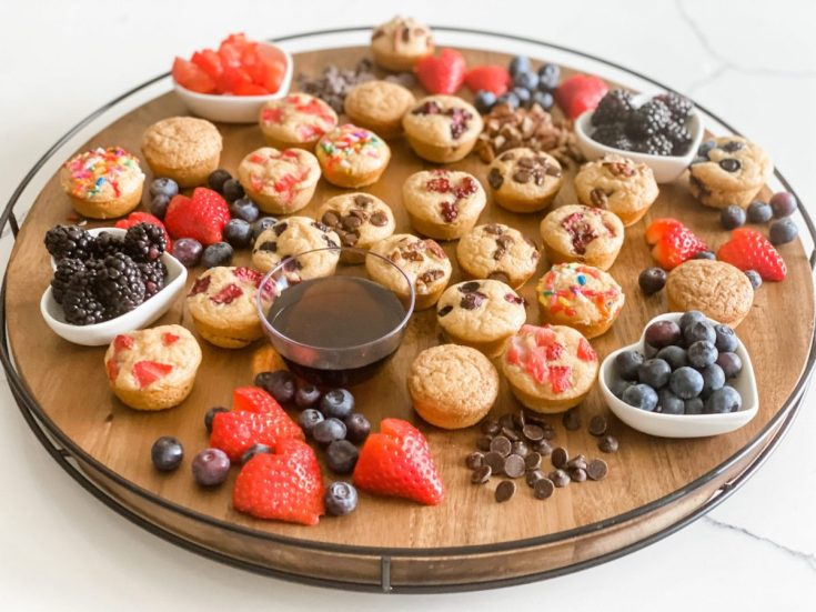 Mini Muffin Breakfast Board