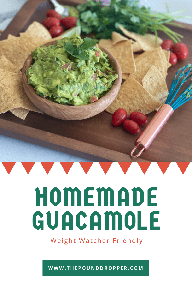 This Homemade Guacamole is hands down the BEST guacamole recipe! It's simple to make and uses fresh ingredients! Serve with chips, as a side dish, or spread it on a piece of toast! via @pounddropper