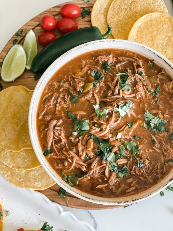 Crockpot Mexican Sweet Pulled Pork