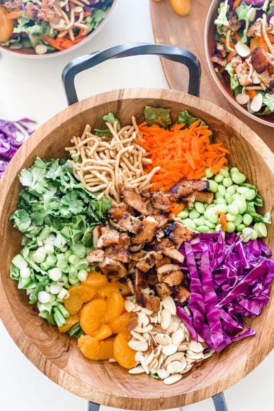 Lightened Up Asian Chicken Salad