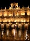 La Plaza Mayor en la Noche