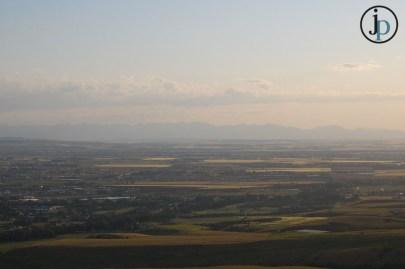 Hazy Valley View