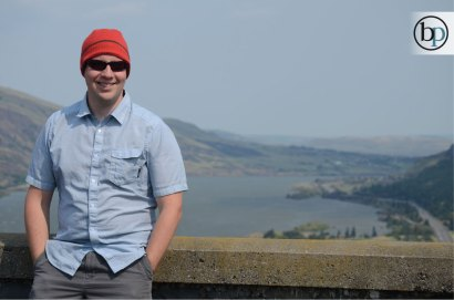 Columbia River Gorge - Jon being cool