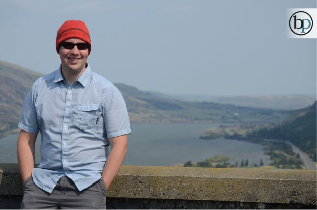 Columbia River Gorge - Jon being cool