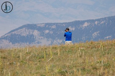 Brent off taking photos! Love this man!
