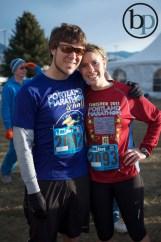 Pre-race couple!