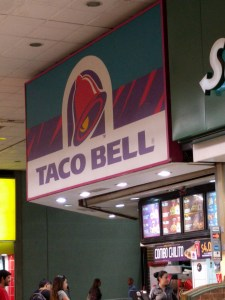 Taco Bell in Santiago, Chile.