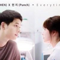 [เนื้อเพลง+คำแปล]CHEN (EXO) & Punch - Everytime [Descendants of The Sun OST]
