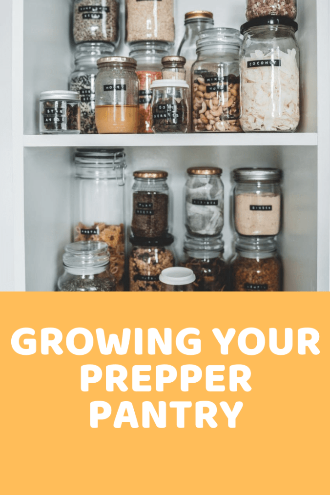 Growing your prepper pantry over time will keep you ready for a disaster.