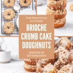 brioche crumb cake doughnuts recipe inspired by entenmann's