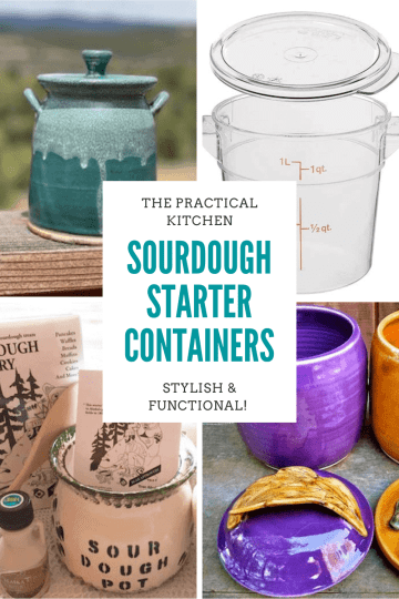 sourdough starter containers