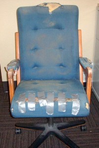 The parable of the ugly chair  How to handle a sticky