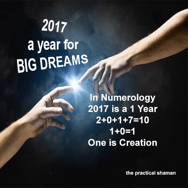 2017 is a Year of New Creation