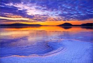 The winter winds of stillness prevail