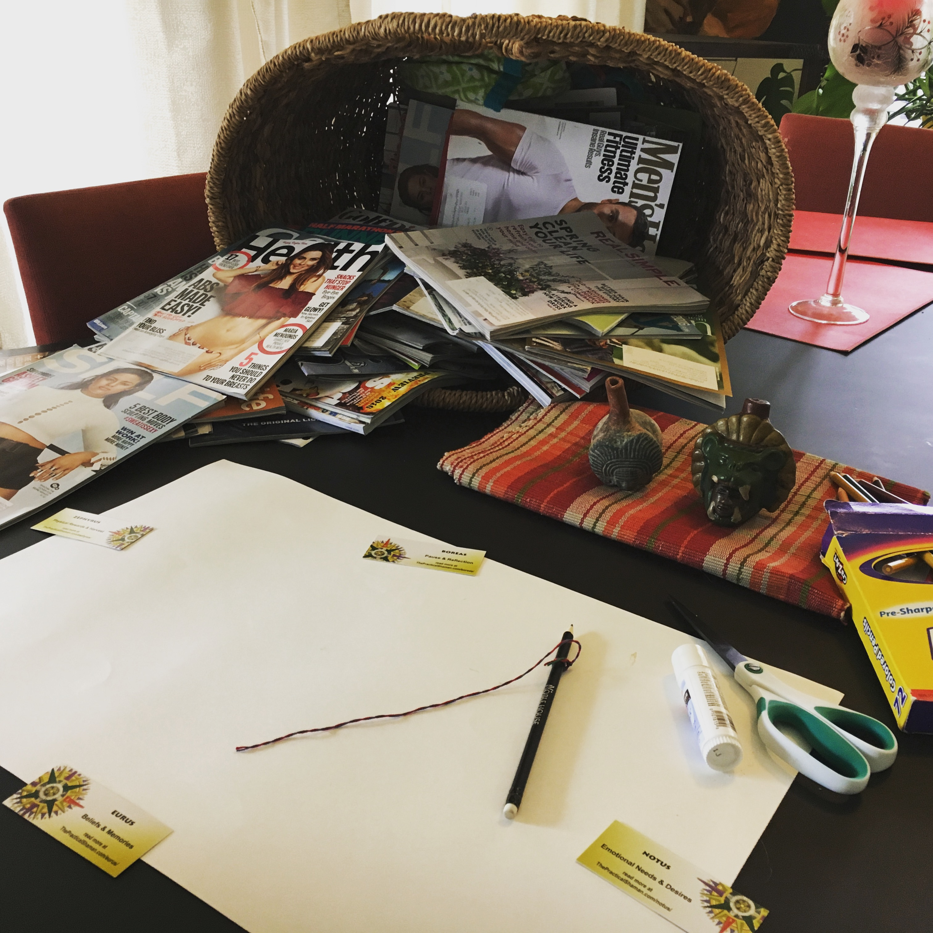 Vision Board Preparation Renee Baribeau