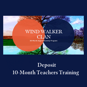Deposit 10 month teachers training