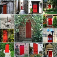 Some History Behind Why Some Front Doors are Red...