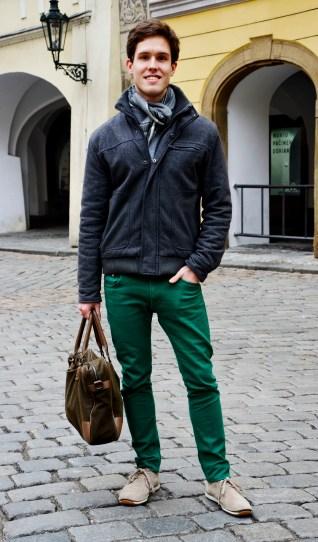 Prague Wandering Spring 2013 Issue Number 1 fashion street style Jan Trnka