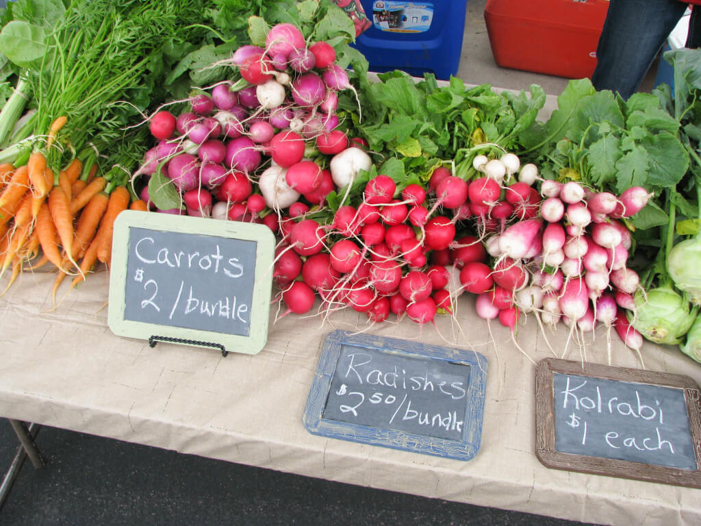 rosemont valley farms radishes