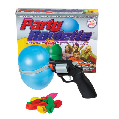 party roulette water balloon