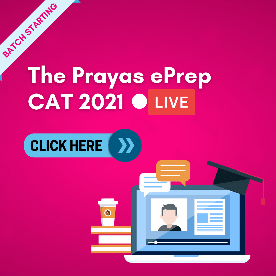 The Prayas EPrep CAT 2021