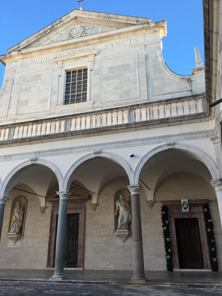 9. St. Benedict - Monte Cassino