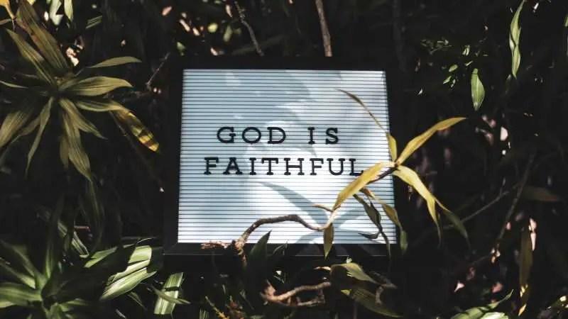 Faith Is Shaken