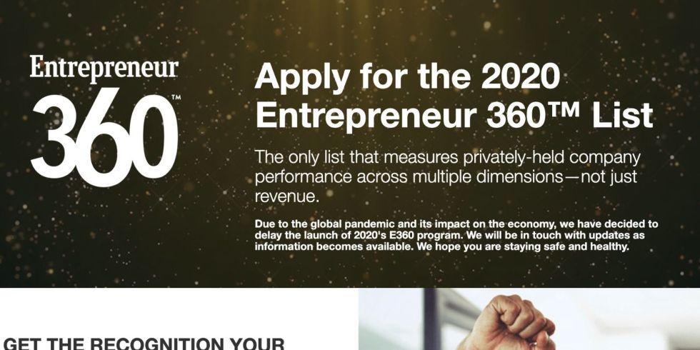 5 Tips for Making Mainstream Media Award Lists - Entrepreneur Magazine - THEPRBARinc.com