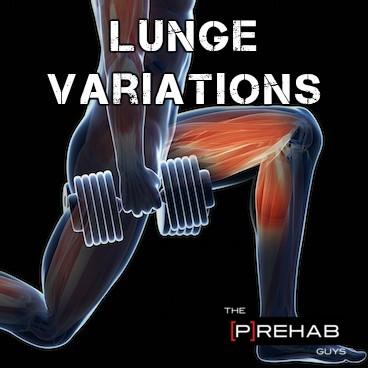 Lunge Variations