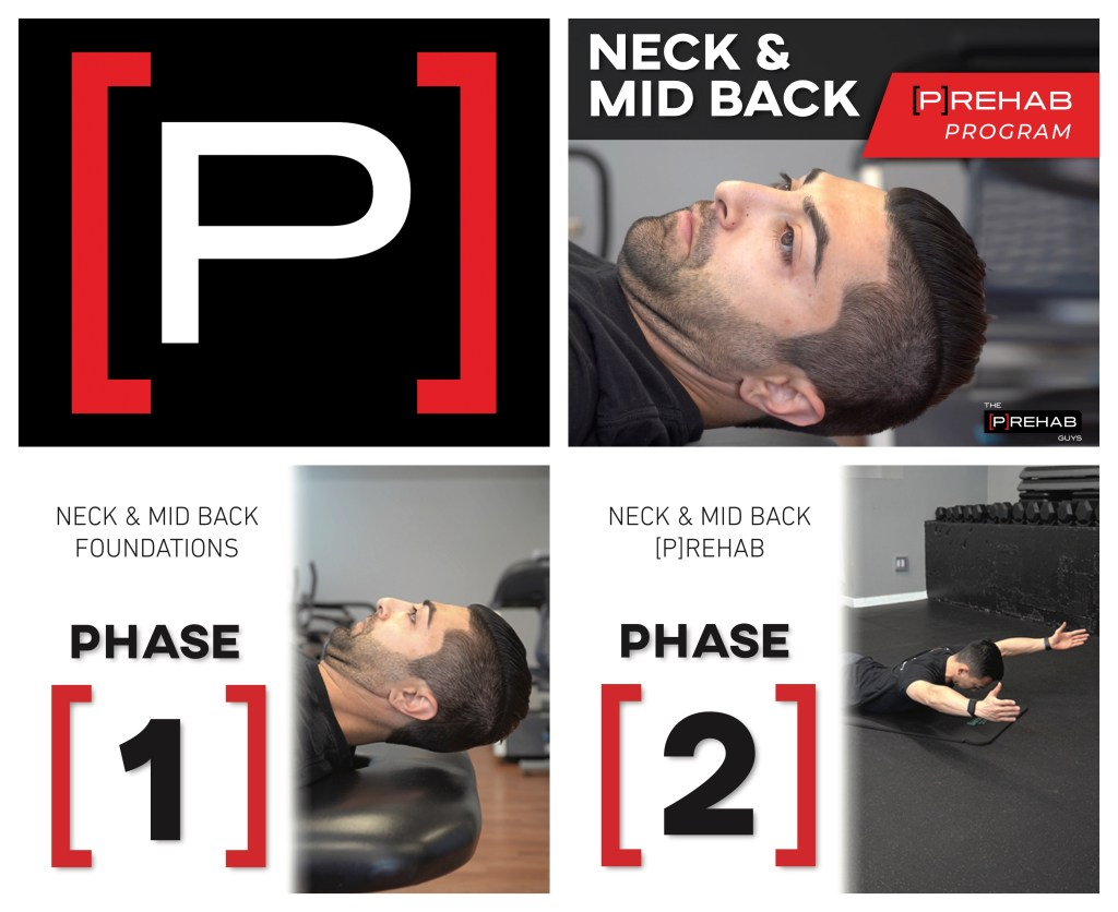 neck midback program the prehab guys