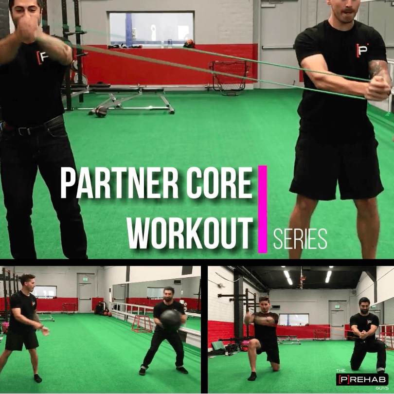 Partner Core Workout Series - How To Make Core Training More Engaging