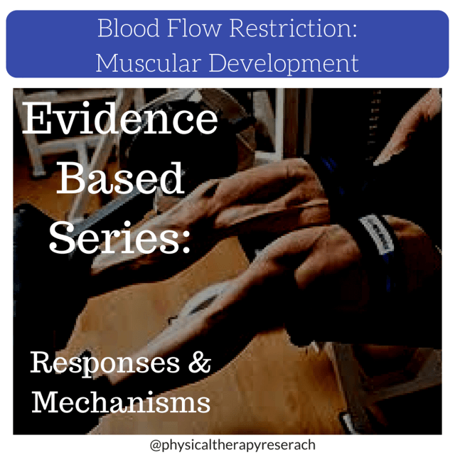 blood flow restriction responses and mechanisms