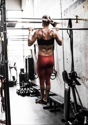 pull-ups body positioning