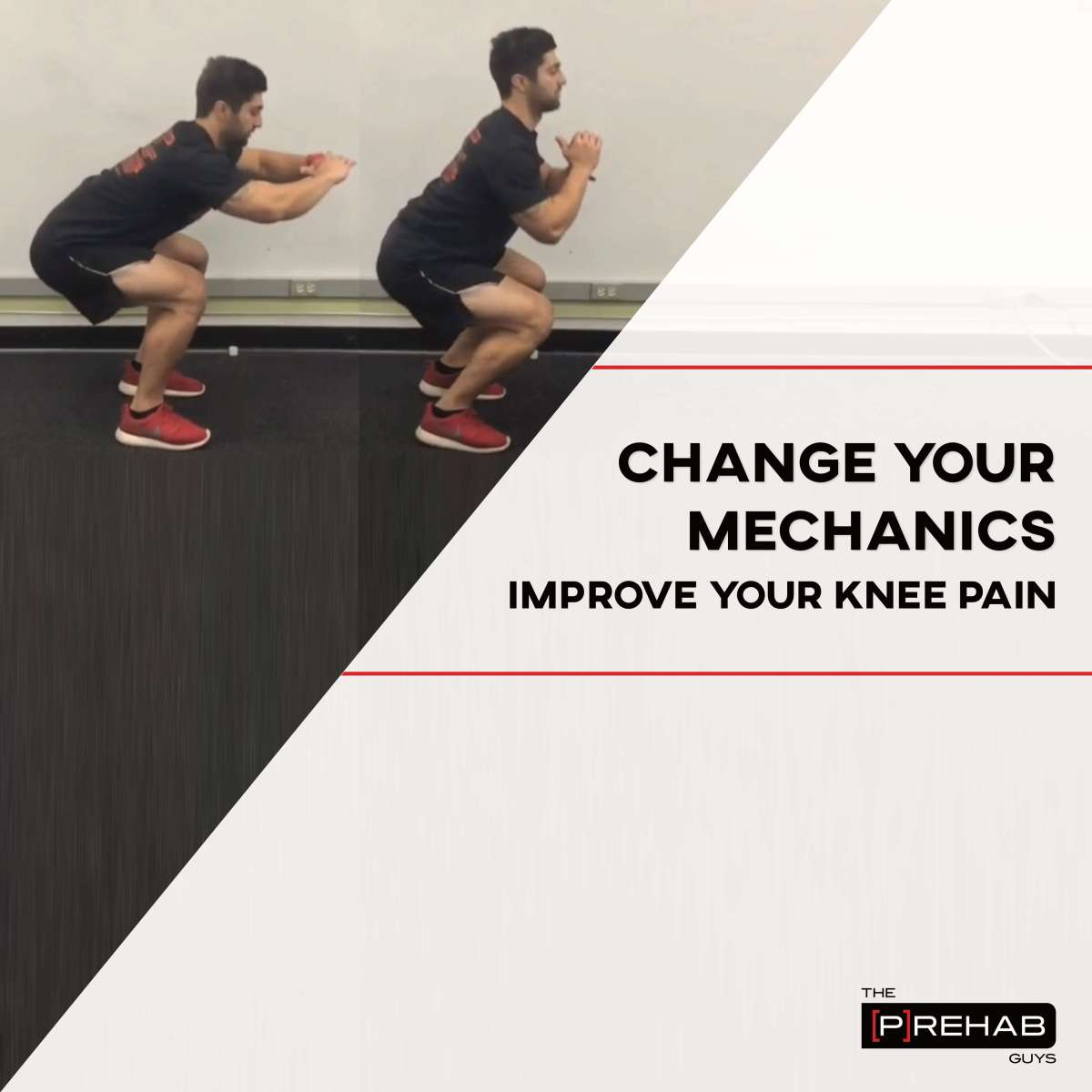 Change Your Mechanics to Improve Your Knee Pain