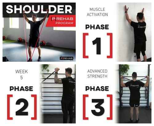 shoulder program the prehab guys