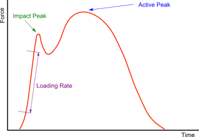 loading rate impact peak active peak how to change running form the prehab guys