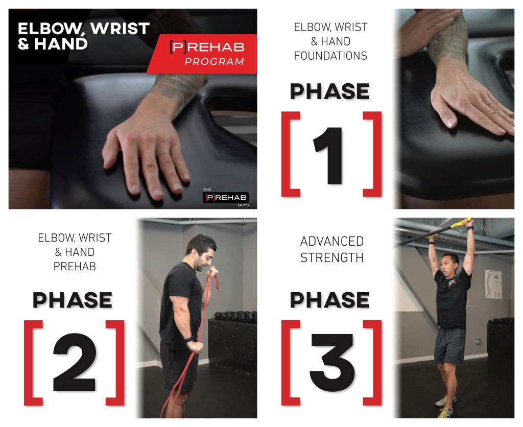 elbow wrist hand program how to treat golfer's elbow the prehab guys