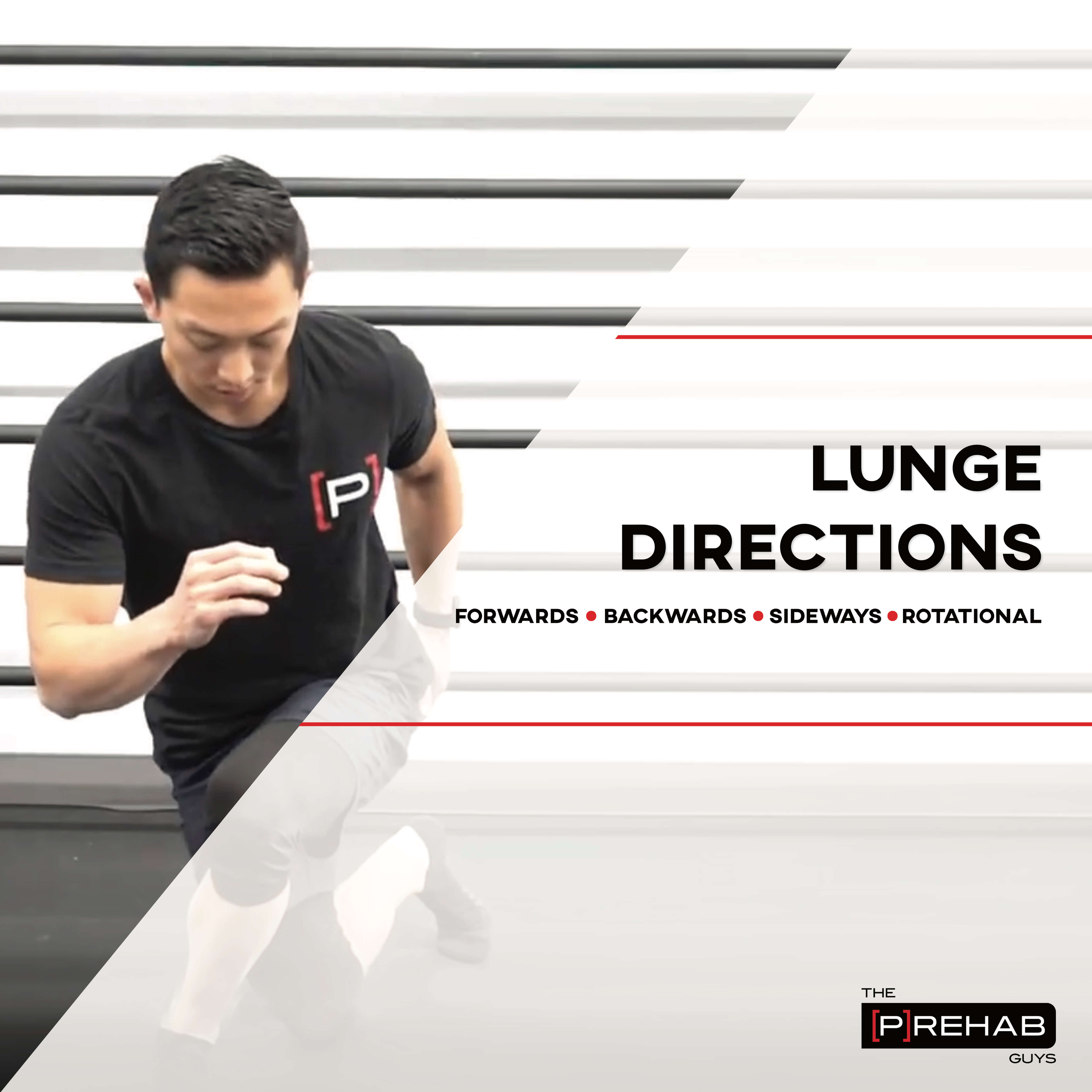 Lunge Directions - INSTAGRAM