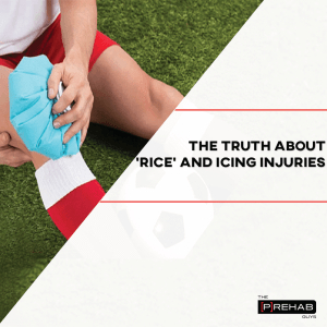truth about rice and icing injuries the prehab guys