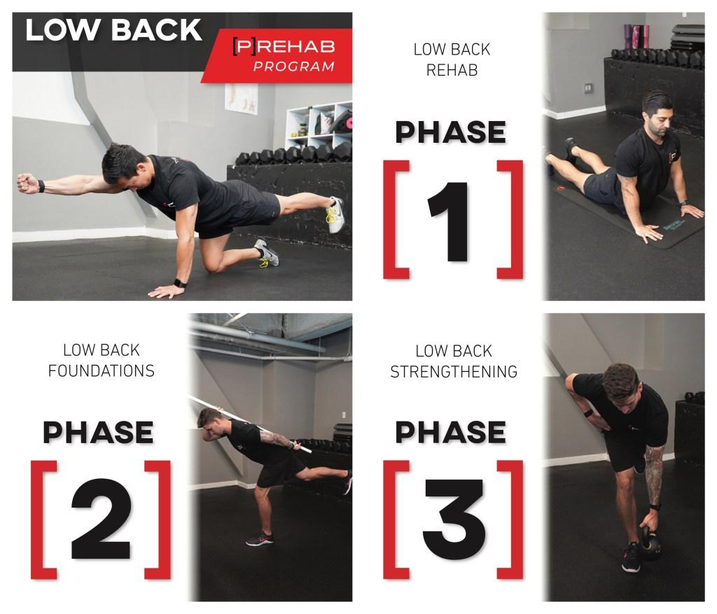 advanced core exercises low back prehab program the prehab guys