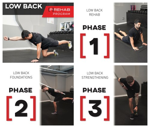 low back program the prehab guys the best landmine exercises