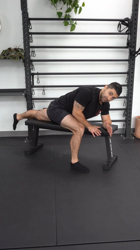 Prone Hip Flexor Stretch 𝙏𝙝𝙚 𝙋𝙧𝙚𝙝𝙖𝙗 𝙂𝙪𝙮𝙨 Online