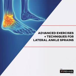 advanced lateral ankle sprain rehab exercises the prehab guys