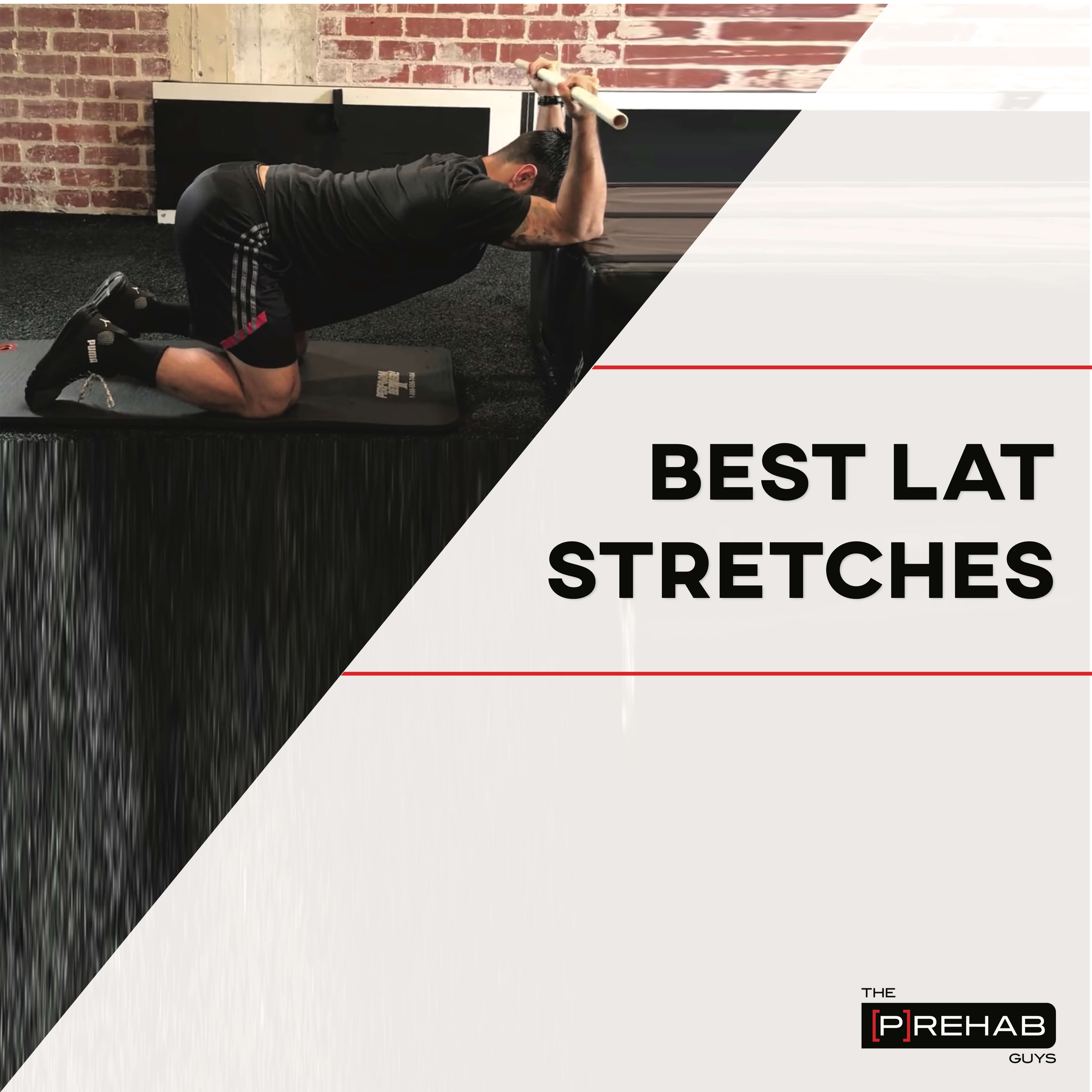 best lat stretches IG