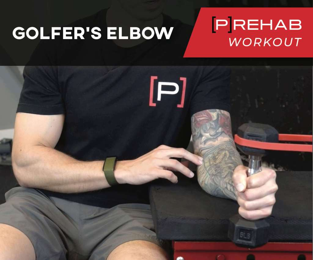 GOLFER'S ELBOW WORKOUT